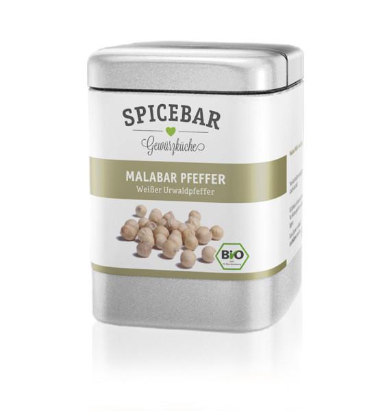 Spicebar Weißer Urwaldpfeffer, ganz - Bio