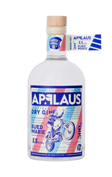 Applaus Dry Gin Suedmarie