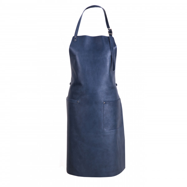 The Identity Collection Apron Blueberry