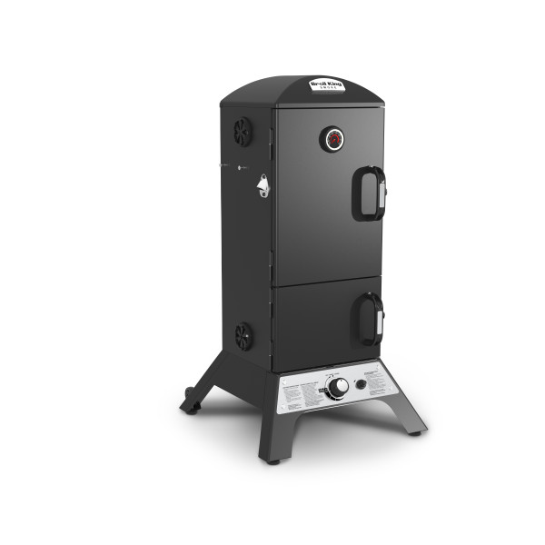 Vertical Gas Smoker inkl. Sparerib- / Bratengestell