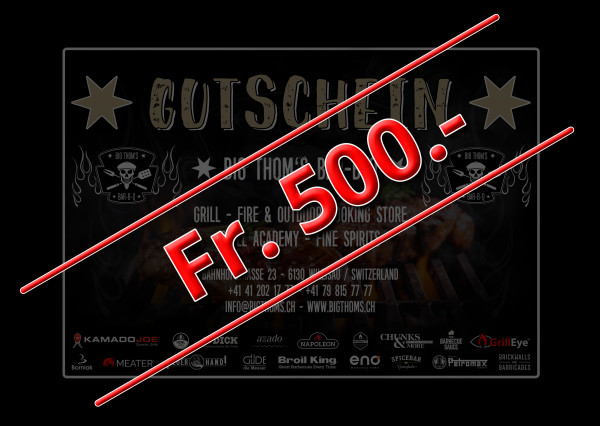 Gutschein Fr. 500.-