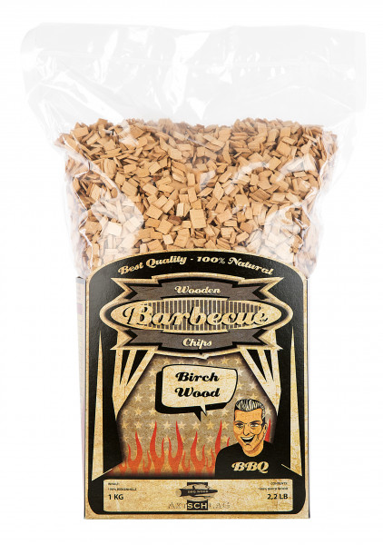Axtschlag Wood Smoking Chips - Birke