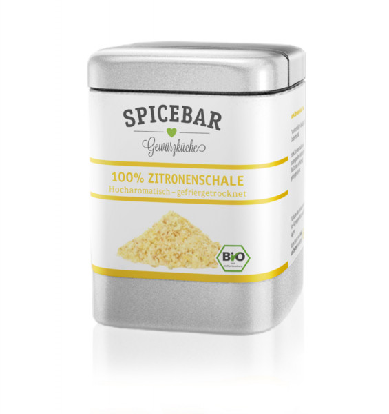 Spicebar Zitronenschalenpulver - Bio