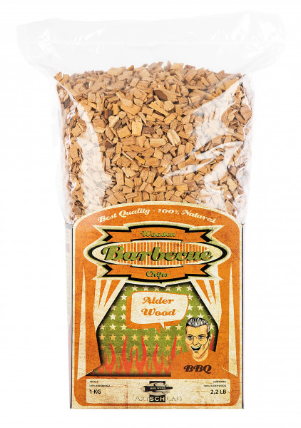 Axtschlag Wood Smoking Chips - Erle
