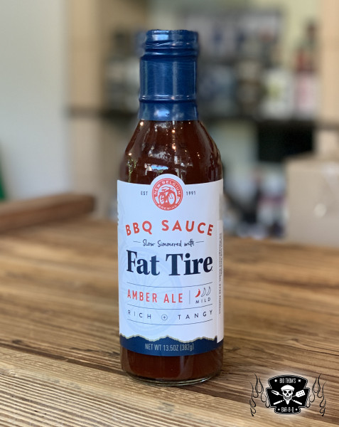 New Belgium Brewing Fat Tire BBQ Sauce-Copy