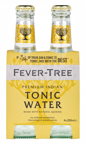 Premium Indian Tonic Water 20cl 4er-Set