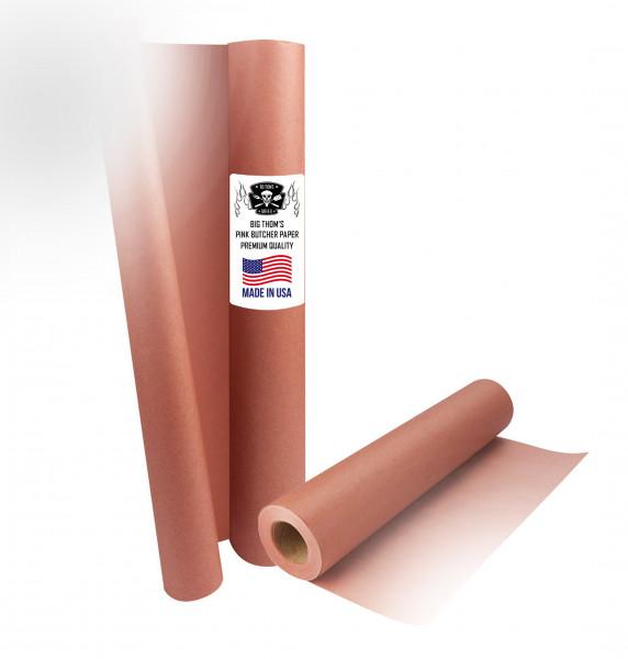 Pink Butcher Paper (100m)