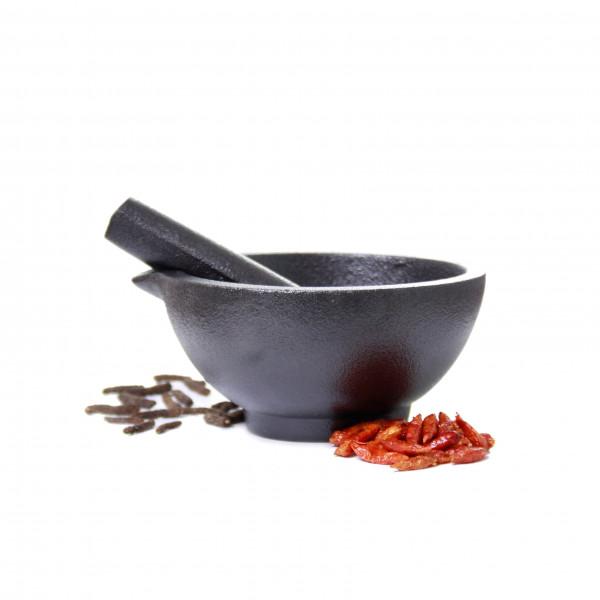 Spicebar Mörser, Gußeisen mit Stößel