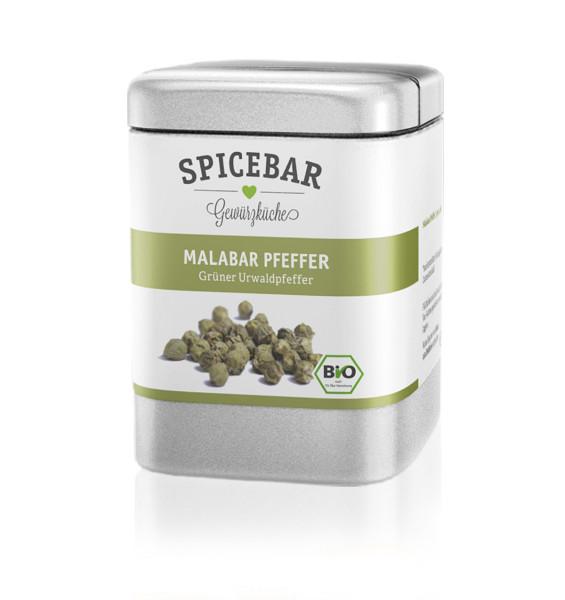 Spicebar Grüner Urwaldpfeffer, ganz - Bio