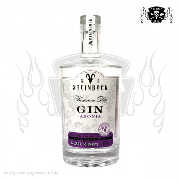 Steinbock Aronia - Premium Dry Gin - 50cl