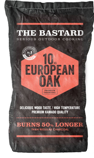 Holzkohle Europäische Eiche 10 kg