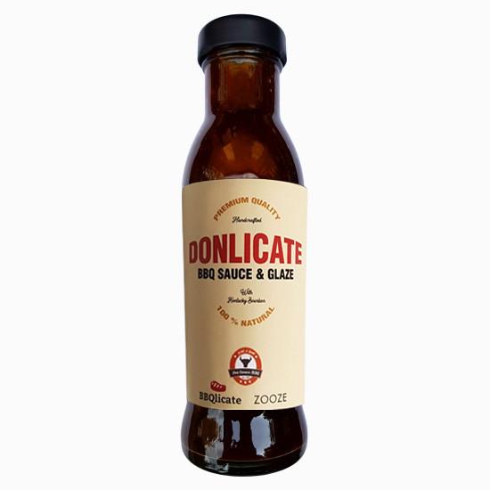Donlicate BBQ Saucen & Glaze - Kentucky Bourbon BBQ Sauce