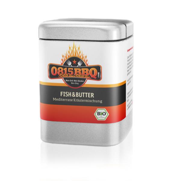 Spicebar 0815BBQ - Fish&Butter - Bio