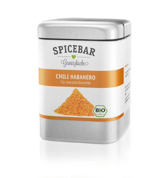 Spicebar Habanero Chili, Pulver - Bio