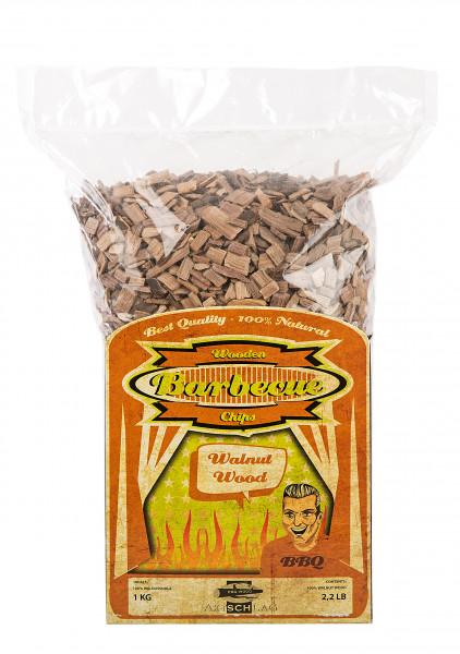 Axtschlag Wood Smoking Chips - Wallnuss