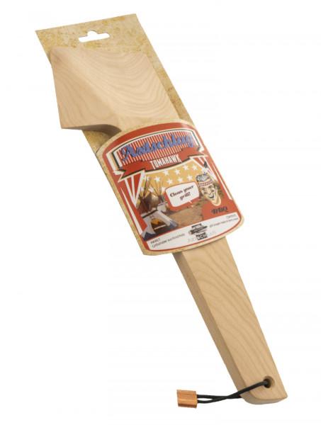 Axtschlag Tomahawk - Grillschaber aus Kirschholz