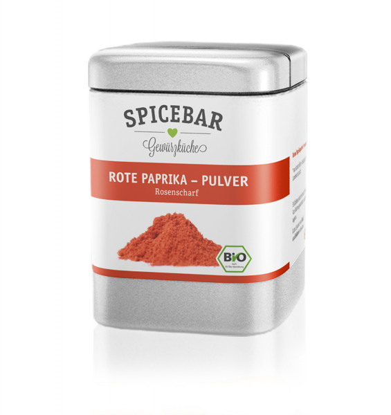 Spicebar Paprika rosenscharf, Pulver - Bio