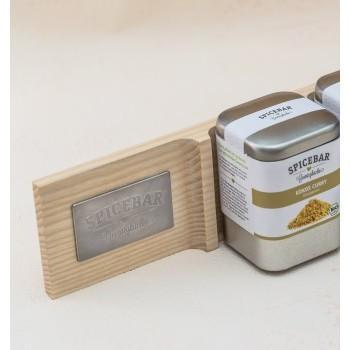 Spicebar Gewürzregal -Magnetisch- 10er Esche