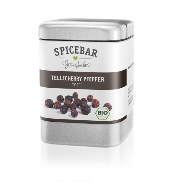 Spicebar Tellicherry Pfeffer, ganz - Bio