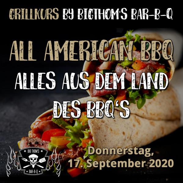 All Amercian BBQ - Feines aus dem BBQ Ursprungsland