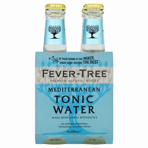 Mediterranean Tonic Water 20cl 4er-Set
